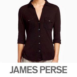 Super Soft Cotton James Perse Button Down
